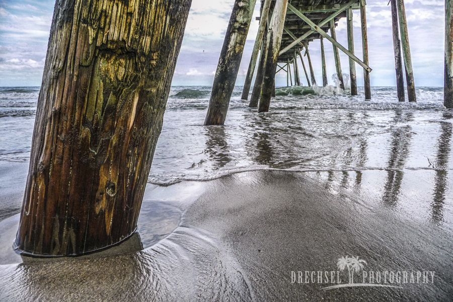 Under Crystal Pier | photo by tjdrechselphotography.com