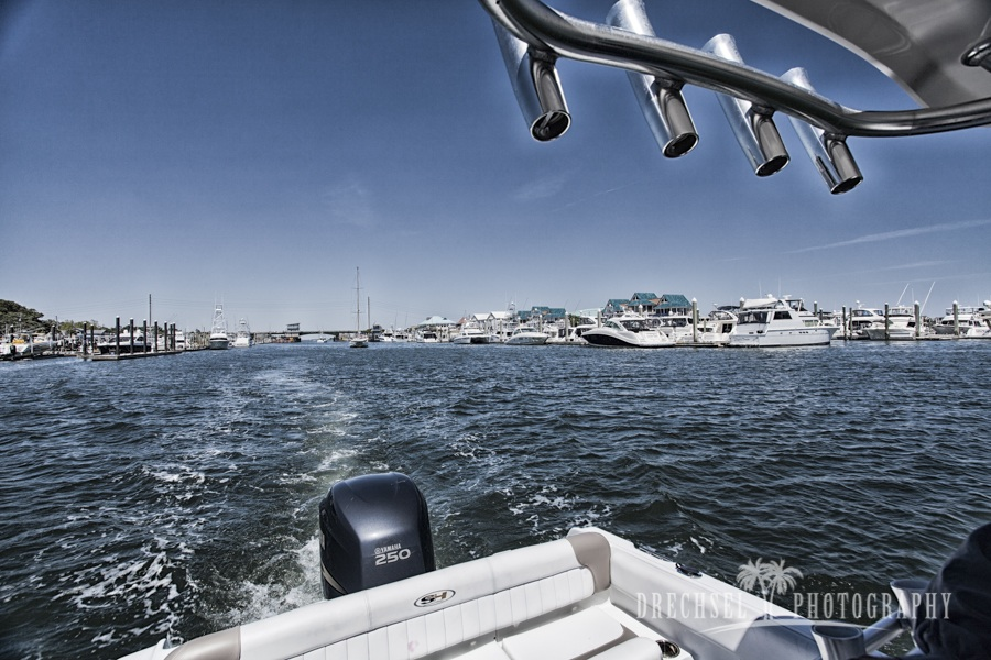 Afternoon cruise on the ICW | photo by tjdrechselphotography.com