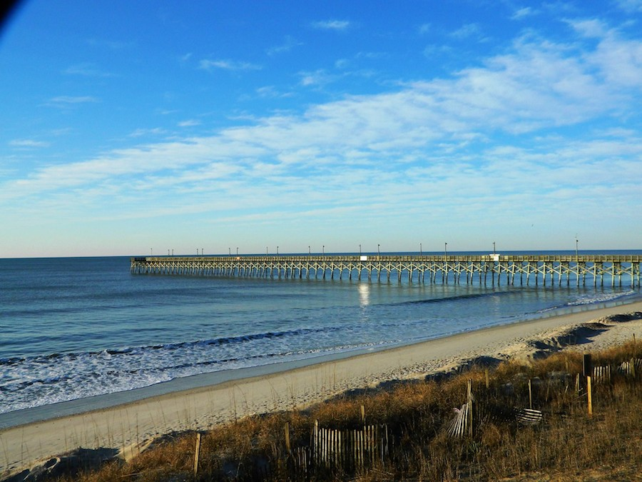 Surf City Pier | photo courtesy of TownofSurfCity.com