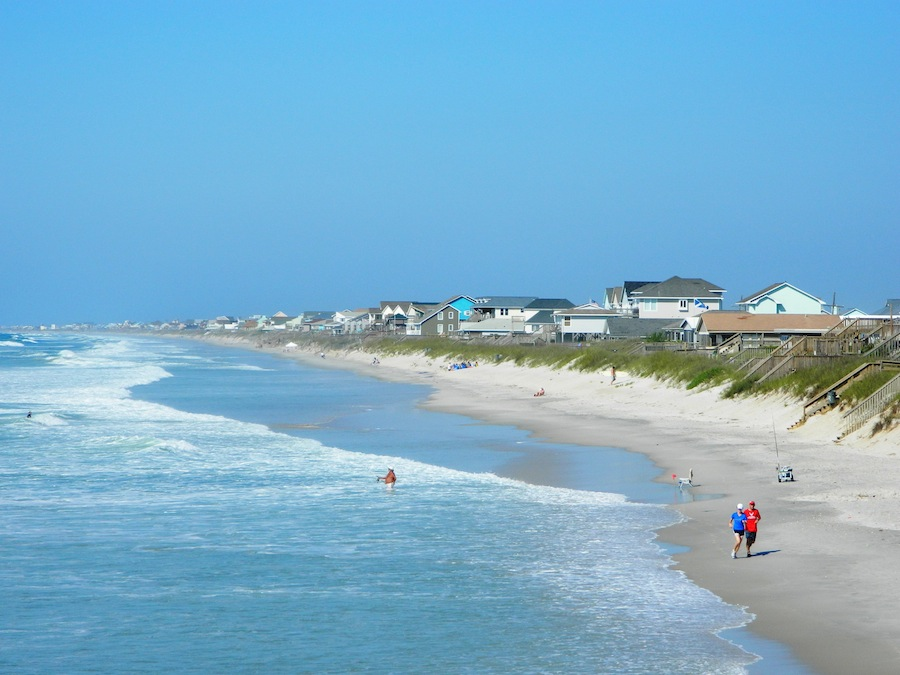 Topsail Beach NC | photo courtesy of TownofSurfCity.com