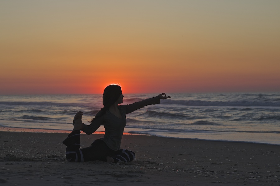 Sunrise Yoga on Topsail | photo courtesy of Eric Vithalani