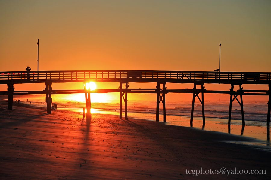 Pier at Sunrise | Photo By : Jeff King tcgphoto.biz